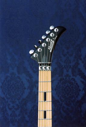 Vintage 1994 Alvarez Dana Scoop AE650TRW Electric Guitar (White)