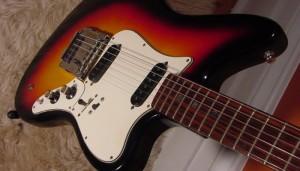 Vintage Domino Spartan Electric Guitar