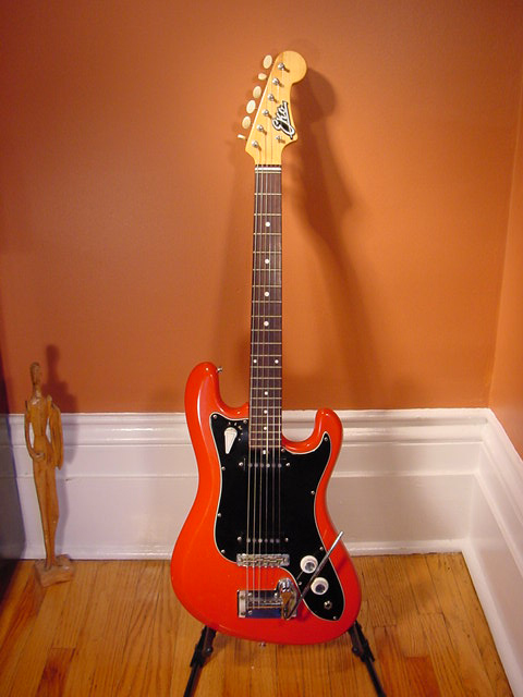 Vintage EKO Condor Electric Guitar (Red)