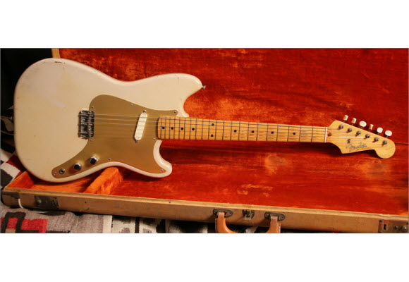 Vintage Fender Musicmaster Electric Guitar