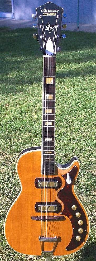 Vintage Harmony H44 Stratotone Electric Guitar