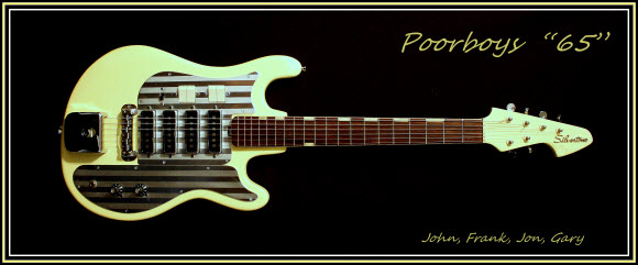 The Poorboys '65 (Vintage Silvertone 4 pickup electric guitar)