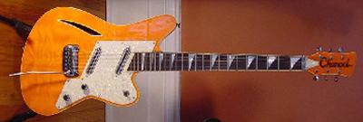 1990's Charvel Surfcaster Electric Guitar