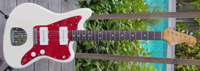 1990's Fender Jazzmaster Electric Guitar