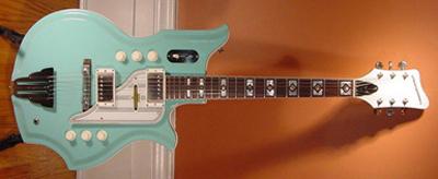 1990's Metropolitan Tanglewood Electric Guitar