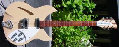 1990's Rickenbacker 330 Mapleglo Electric Guitar