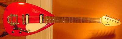 1990's Vox Teardrop Electric Guitar