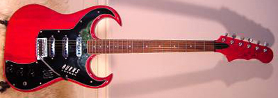 2000's Burns Bison Electric Guitar