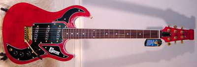 2000's Burns Marquee S Electric Guitar