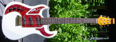 2000's Burns Marquee Electric Guitar (left-handed)