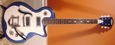 2000's DiPinto Belvedere Custom Electric Guitar