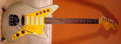 2000's DiPinto Galaxie Los Straitjackets Custom Electric Guitar