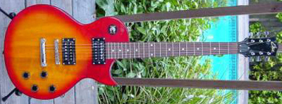 2000's EKO VL-480 Electric Guitar (cherryburst)