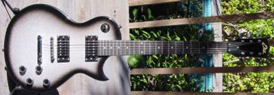 2000's EKO VL-480 Electric Guitar (silverburst)