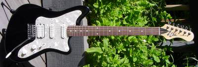 2000's EKO Camaro Electric Guitar (black)