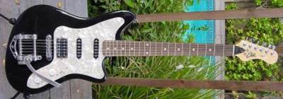 2000's EKO Camaro Electric Guitar (black)