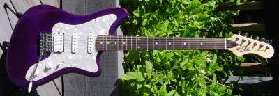 2000's EKO Camaro Electric Guitar (blue)
