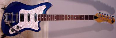 2000's EKO Camaro Electric Guitar (blue)