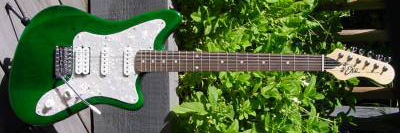 2000's EKO Camaro Electric Guitar (green)