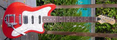 2000's EKO Camaro Electric Guitar (red)