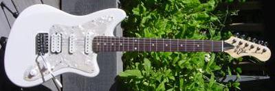 2000's EKO Camaro Electric Guitar (white)