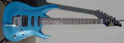 2000's EKO Custom 2 Electric Guitar (blue)