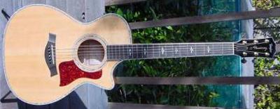 2000's Taylor 612CE Acoustic Guitar