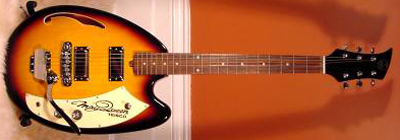 2000's Teisco May Queen Electric Guitar (re-issue)