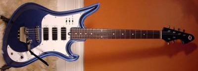 2000's Teisco Spectrum Electric Guitar (re-issue)