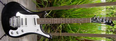 2000's Yamaha SGV Electric Guitar (black)