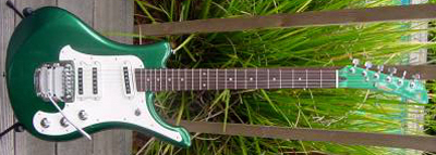 2000's Yamaha SGV Electric Guitar (green)