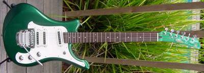 2000's Yamaha SGV Electric Guitar (green)