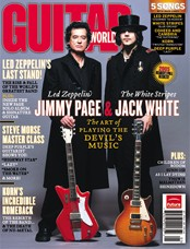 Jimmy Page & Jack White: Guitar Player Magazine
