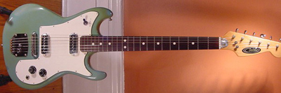 Vintage 1960's Contessa Electric Guitar