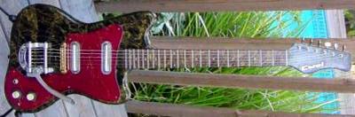 Vintage 1960's Coral Electric Guitar (refurbished)