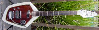 Vintage 1960's Domino Californian Electric Guitar