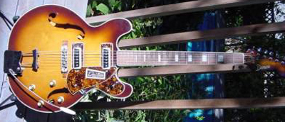 Vintage 1960's Domino Dawson Electric Guitar