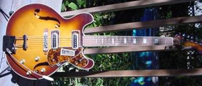 Vintage 1960's Domino Dawson Electric Guitar