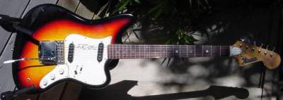 Vintage 1960's Domino Spartan Electric Guitar
