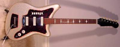 Vintage 1960's EKO 500-3V Electric Guitar