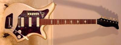 Vintage 1960's EKO 700-3V Electric Guitar