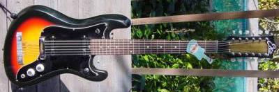 Vintage 1960's EKO Cobra 12 Electric Guitar