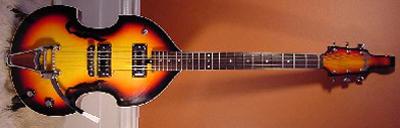 Vintage 1960's Espana Viola Electric Guitar