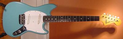 Vintage 1960's Fender MusicMaster Electric Guitar