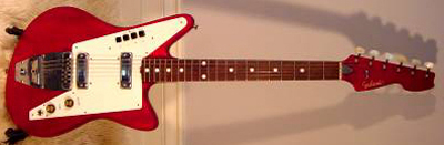 Vintage 1960's Galanti Electric Guitar (red)