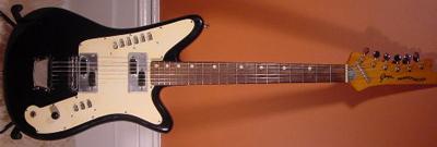 Vintage 1960's Goya Rangemaster Electric Guitar