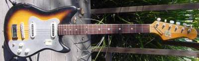Vintage 1960's Guyatone Electric Guitar