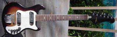 Vintage 1960's Guyatone Setneck Electric Guitar