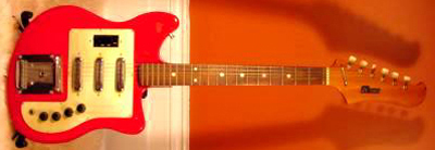 Vintage 1960's Hi-Tone Electric Guitar