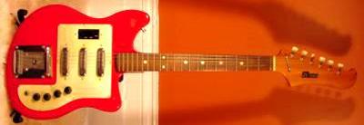 Vintage 1960's Hi-Tone Electric Guitar